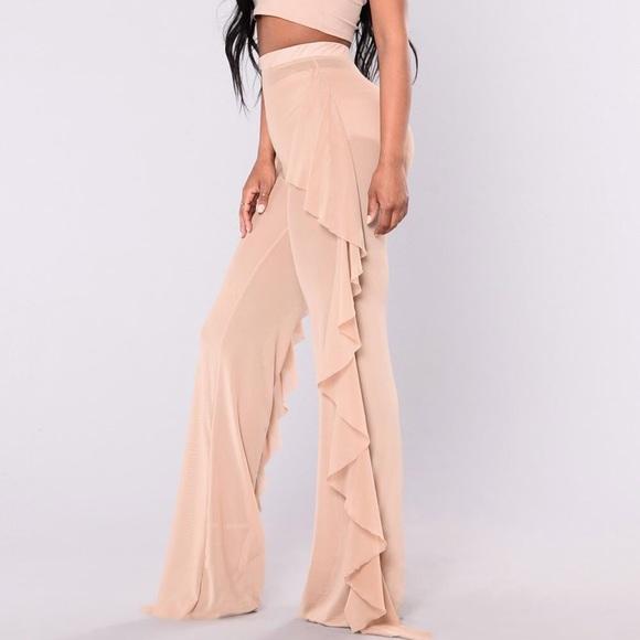 99a983be97 Fashion Nova Swim | Mesh See Thru Cover Up Pants | Poshmark
